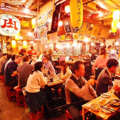 ★単品飲放2H980円(税抜)★渋谷センター街肉横丁で毎日行ける大衆焼鳥屋