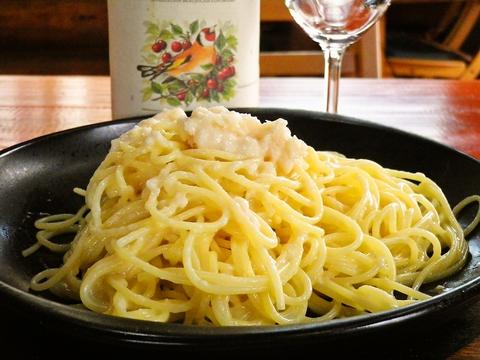 静岡ではここだけ!濃厚なチーズを贅沢に使ったレジャーノパスタが食べられる店。