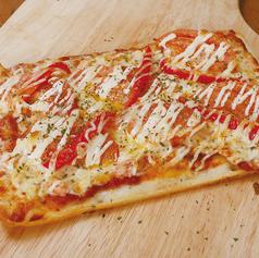 フレッシュトマトのカニマヨピザ