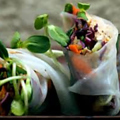 料理メニュー写真野菜たっぷり生春巻き