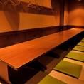 ご宴会には24名様までご利用可能なお座敷席をご用意。20名様以上で貸切いたします。ご親族の集まりや、会社の飲み会に是非ご利用ください。和食