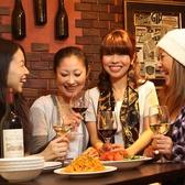 女子会にも人気です!隠れ家的な場所にあるため自分たちだけのお店としてお使いください。