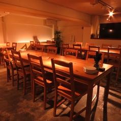 6~8名にぴったりのお席です。女子会や会社の小規模宴会にどうぞ!