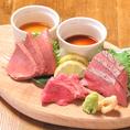 仙台では珍しい巷で人気のカンガルー肉をご用意しております!