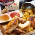 料理メニュー写真フランス式ロティサリーオーブンで焼き上げる定番・ローストチキン(1/2羽)