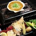 料理メニュー写真丸ごとバイ貝の焼きフォンデュ!!【新潟県産】