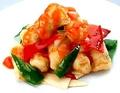 料理メニュー写真≪据置!≫ 酸味と辛味巻いた白身魚の揚げたて