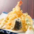 料理メニュー写真海老2本入り天ぷら盛り