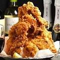 料理メニュー写真自家製の鶏のヤミツキから揚げ