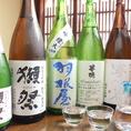 愛媛や全国各地の地酒もご用意しております。