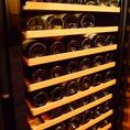 世界のワインも常時種類豊富にご用意しております。