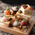料理メニュー写真◆ 38ふ頭 ・ 名物 ◆~漁師町の 【大漁・階段盛り】~ ★常時:5~7点盛り★