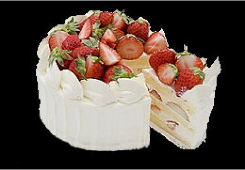 PATIO BIRTHDAY【テイクアウト】生クリームに苺たっぷり♪大人気です。(7号21cm)