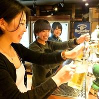 【町田NO1ビアホール】最大11種の生ビールが注ぎ放題