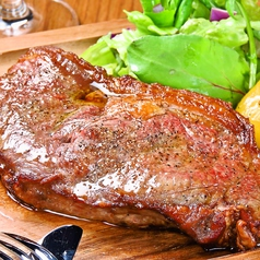 熟成牛ロースステーキ(約150g)