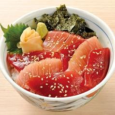 鮪三種丼/漬け鮪二種丼