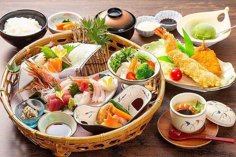 【月火木金土日:お昼限定ランチ】鰻料理またはミニ会席料理のどちらかを選ぶ予定です