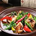 料理メニュー写真宮城県産活ホタテ貝のアヒージョ