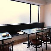窓側のお席は、カーテンで目線を仕切れる半個室となっております☆最大16名様までご案内可能です。(おすすめは10名様)周囲の目を気にせずお食事ができ、女子会などの飲み会や記念日でのご利用におすすめです!!様々なシーンに合わせてご利用ください♪女子会/記念日/デート/宴会/貸切/ワイン/野菜/肉/銀座
