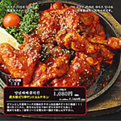 炭火焼ピリ辛ヤンニョムチキン(ハーフ)