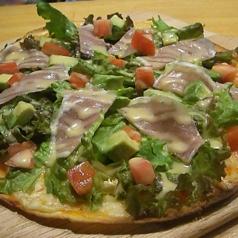 アボカドと生ハムサラダPizza Mサイズ