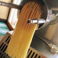 料理メニュー写真入り口に置いてあるパスタマシーンで製麺してます!