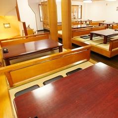 2階は6名様テーブルが8卓ございます!貸切宴会もOK!