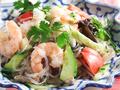 料理メニュー写真春雨とシーフードのサラダ(ヤム・ウンセン)
