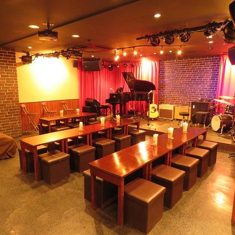 生演奏を聴きながらこだわりのお酒と食事を楽しめる、埼玉県越谷のライブレストラン