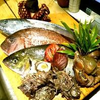 大将自ら旬の魚を日本全国から厳選して仕入れております