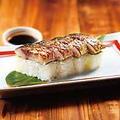 料理メニュー写真炙りさば寿司(4貫)