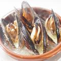 料理メニュー写真岡山産活ムール貝の白ワイン蒸し