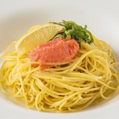 料理メニュー写真(和風)明太子、青じそ、レモン、タバスコ