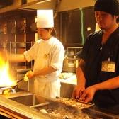 「鉄板料理×イタリアン」2人の職人が腕をふるいます!