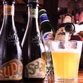 イタリアでは定番の食事に合わせやすい「モレッティ」、「ペローニ ナストロアズーロ」をはじめ、イタリアNo.1クラフトビールメーカー、「バラデン」もございます!フルーティーなビールやコクのあるアンバービールは是非一度お試しください!