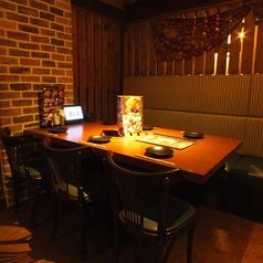 4名様のテーブル席♪【上大岡 居酒屋 個室】【会社の飲み会もプライベートなお食事にも最適な店内です。個室 居酒屋 食べ放題 飲み放題 宴会 個室 接待 和食 大人数 おすすめ 人気 貸切】