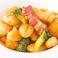 料理メニュー写真ベーコンと長芋のフライドニョッキ