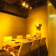 半個室の上品な空間。千葉の喧騒を忘れて楽しむ料理!