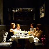 ◆ビストロ◆女子会やデートに人気のボックスシート♪1番人気のお席なのでご予約はお早めに!