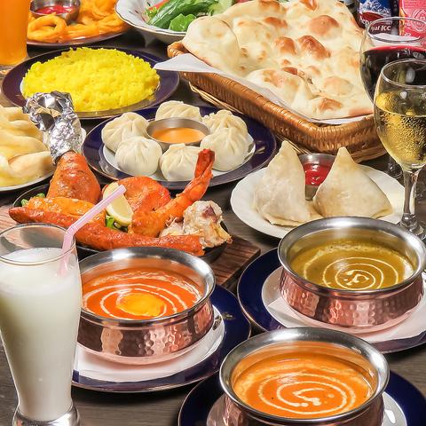 本場のインド料理ウマ― デリバリーやテイクアウトも可能♪
