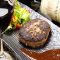 料理メニュー写真和牛ハンバーグ