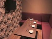 【カラオケ付完全個室】最大で5名様までご利用可能な完全個室となっております。