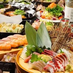 海鮮個室居酒屋 石狩漁場 梅田阪急HEPナビオ店特集写真1