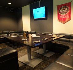 離れの宴会用個室!カラオケも有。コロナ対策のため、現在は10~15名様で貸切とさせていただきます。