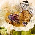 料理メニュー写真エビと茄子のフリットチリマヨソース