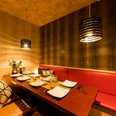 【4~8名様個室】会社宴会からご友人との飲み会、女子会など様々なシチェーションに対応可能!落ち着いた空間でごゆっくりお料理・お酒をお楽しみ下さい。