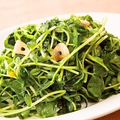 料理メニュー写真季節の青菜炒め