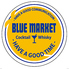 ブルーマーケット Blue-market 本店のロゴ
