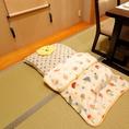赤ちゃんのお布団を御用意致します。お気軽にお申し付けください!!