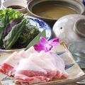 料理メニュー写真【夏季限定!!肉肉肉フェア】あぐー豚しゃぶしゃぶ